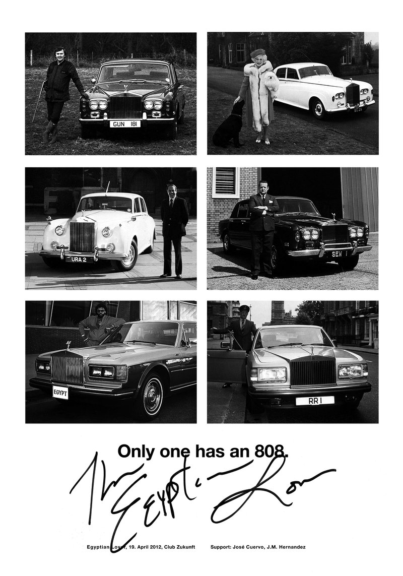 Poster «Only one has an 808.» von Ivan Sterzinger